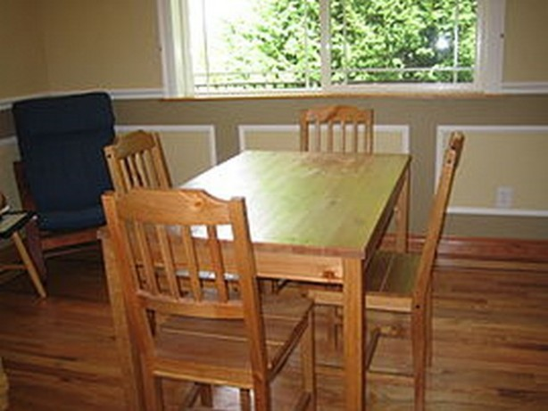 plank dining table plans